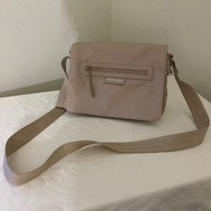 Longchamp bag neo messenger beige new